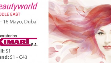 Laboratorios Ximart en Beautyworld Middle East 2017