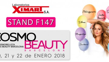 Laboratorios Ximart at Cosmobeauty Barcelona 2018